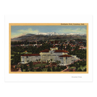 View of the Huntington Hotel Postcard