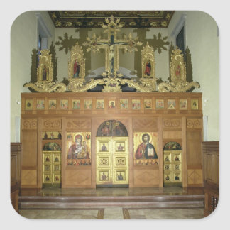 View of the Iconostasis, 1641 (photo) (see 137901 Square Sticker