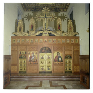 View of the Iconostasis, 1641 (photo) (see 137901 Tile