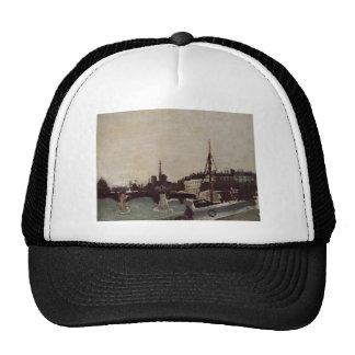 View of the Ile Saint Louis from the Quai Henri IV Trucker Hat