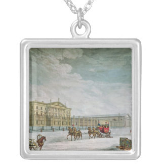 View of the Imperial Bank Silver Plated Necklace