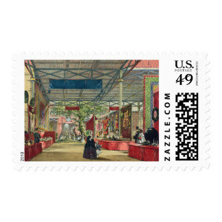 View of the India section of the Great Exhibition Postage