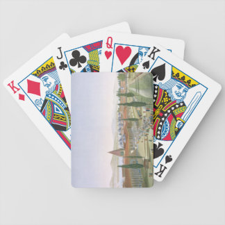 View of the Inner Courtyard of the Seraglio, Topka Bicycle Playing Cards