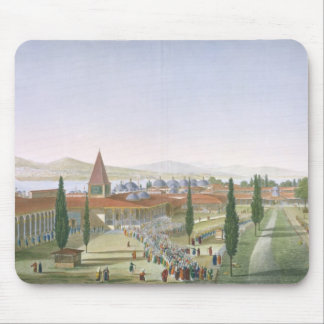 View of the Inner Courtyard of the Seraglio, Topka Mouse Pad