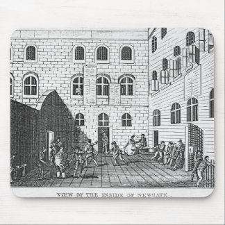 View of the Inside of Newgate, 1809 Mouse Pad
