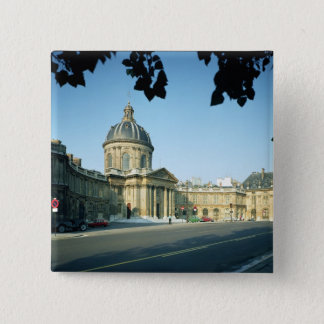 View of the Institut de France from the Quai Pinback Button