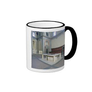 View of the interior, built c.1420-29 (photo) ringer coffee mug