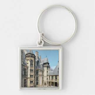 View of the interior courtyard, 1443-51 keychain