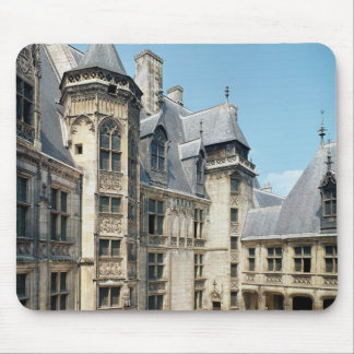 View of the interior courtyard, 1443-51 mouse pad