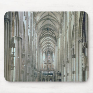 View of the interior looking east, begun 1230 mouse pad
