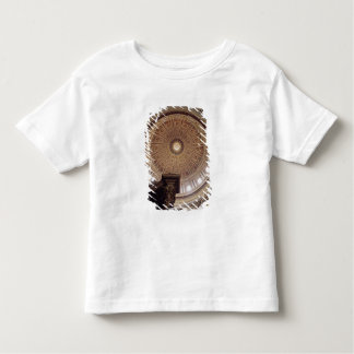View of the interior of the dome toddler t-shirt