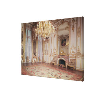 View of the interior of the Grand Salon Canvas Print