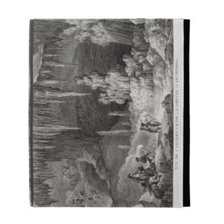 View of the Interior of the Grotto of Antiparos, e iPad Folio Covers