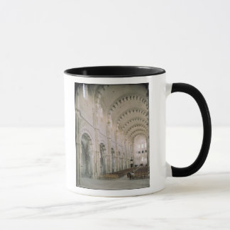 View of the interior of the nave, 12th century mug