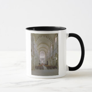 View of the interior of the nave, c.1120-50 mug