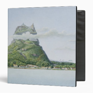 View of the Island of Bora Bora, from 'Voyage auto Binder