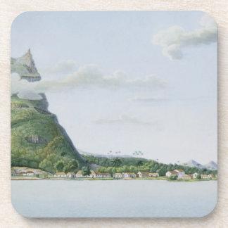View of the Island of Bora Bora, from 'Voyage auto Coaster