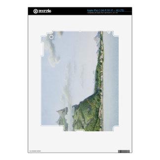 View of the Island of Bora Bora, from 'Voyage auto iPad 3 Skin