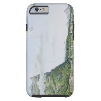 View of the Island of Bora Bora, from 'Voyage auto Tough iPhone 6 Case