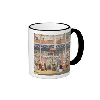 View of the Italy section of the Great Exhibition Ringer Coffee Mug