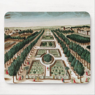 View of the Jardin des Plantes Mouse Pad