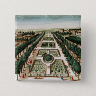 View of the Jardin des Plantes Pinback Button