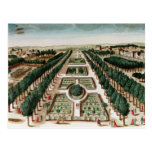 View of the Jardin des Plantes Post Card