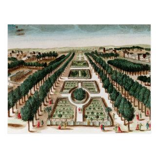 View of the Jardin des Plantes Postcard