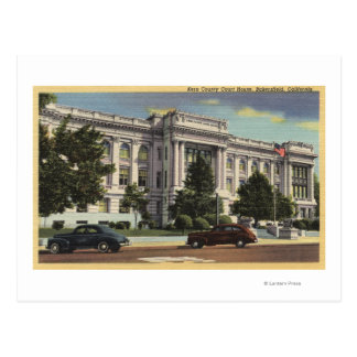 View of the Kern County Court House Postcard