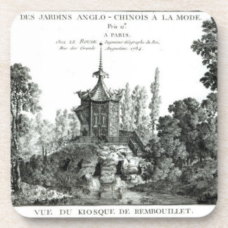 View of the Kiosk at Rembouillet, from 'Jardins An Coaster