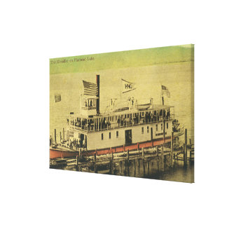 View of the Klondike Riverboat Stretched Canvas Prints