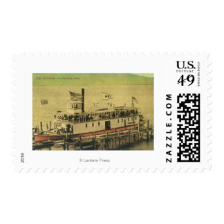 View of the Klondike Riverboat Postage