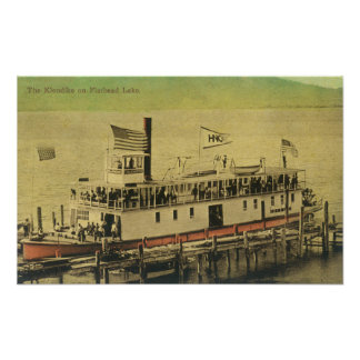 View of the Klondike Riverboat Poster