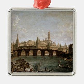 View of the Kremlin and the Kamenny Bridge Metal Ornament