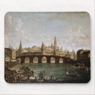 View of the Kremlin and the Kamenny Bridge Mouse Pad