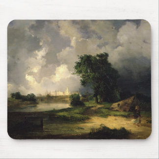 View of the Kremlin in Bad Weather, 1851 Mouse Pad