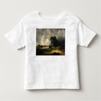 View of the Kremlin in Bad Weather, 1851 Tshirts
