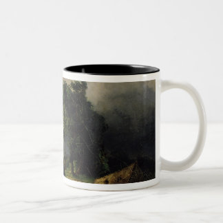 View of the Kremlin in Bad Weather, 1851 Two-Tone Coffee Mug