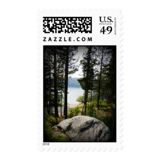 View of the Lake from Above Postage Stamps
