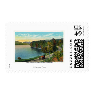 View of the Lake from the Fenimore Cooper Hwy Postage