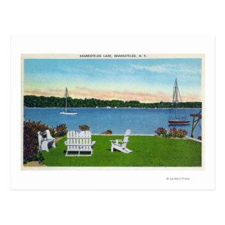 View of the Lake Postcard