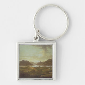 View of the Lakes and Mountains of Killarney, Irel Key Chain