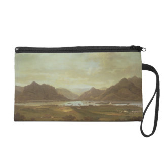 View of the Lakes and Mountains of Killarney, Irel Wristlet