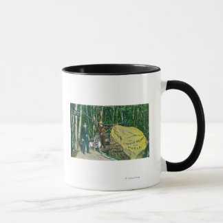 View of the Largest Gold Nugget in the World Mug