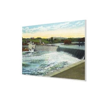 View of the Libby-Dingleys Dam Canvas Prints