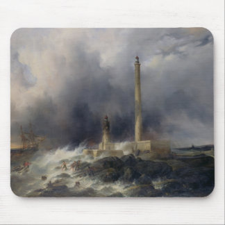 View of the Lighthouse at Gatteville Mouse Pad