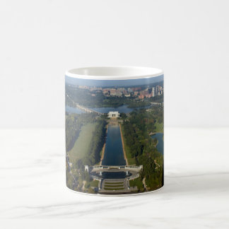 View of the Lincoln Memorial Coffee Mug
