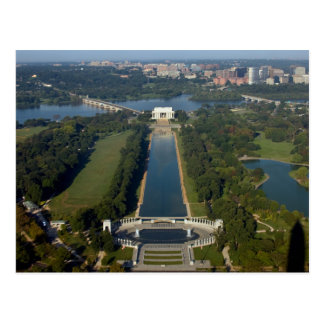 View of the Lincoln Memorial Post Cards
