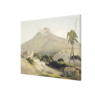 View of the Lion's Head, plate 28 from 'African Sc Canvas Print