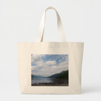 View of the Loch Large Tote Bag